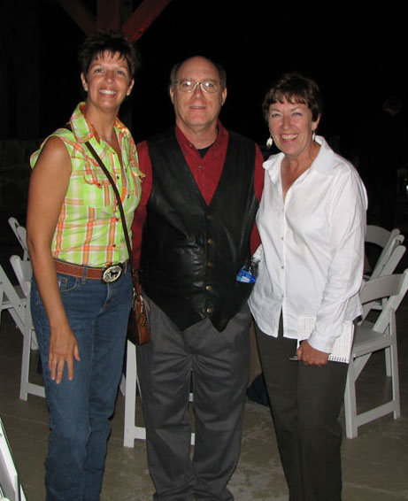 Event coordinator with David and Chris at Lee Ann Womack's event
