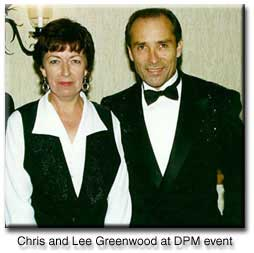 picture of Chris Theophilus with performer Lee Greenwood