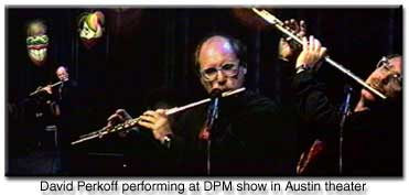 picture of David Perkoff playing flute